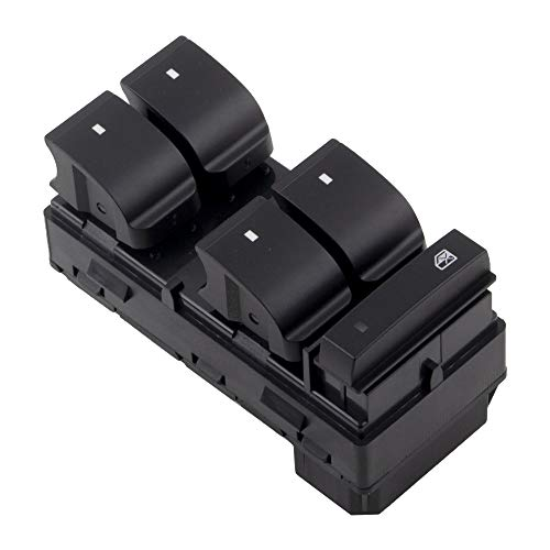 BOXI Front Left Driver Side Power Window Master Control Switch fits for 2007 2008 2009 2010 2011 2012 2013 2014 2015 2016 GMC Acadia (Replaces 20945224)