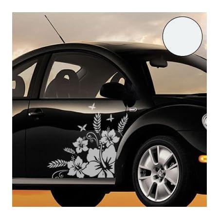 A110 14 Teiliger Butterfly Autoaufkleber Bogen 60cm X 30cm Silber Erh In 49 Farben Auto