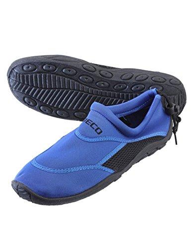 BECO Badeschuhe / Surfschuhe für Damen und Herren, Blau, 37, 9217-60