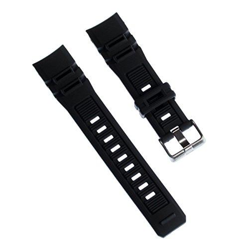 Calypso Correa de reloj de pulsera deportiva, de poliuretano, color negro, para relojes Calypso K5656