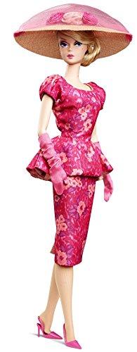 Barbie - Muñeca Collector Floral Fashion, Color Rosa (Mattel CGK91)