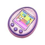 makkalen, macchina elettronica virtuale per animali domestici, portatile, schermo a colori hd, regalo per bambini, rosa (rosa) - dz0723