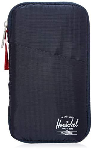 Herschel Travel Wallet, Navy/Red, One Size,10534-00018-OS
