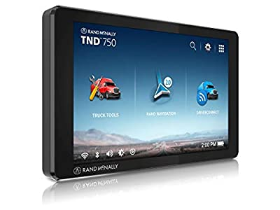 Rand McNally TND 750 7-inch GPS Truck Navigator, Easy-to-Read Display, Custom Truck Routing and Rand Navigation 2.0