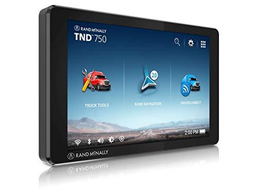 Rand McNally TND 750 7-inch GPS Truck Navigator,...