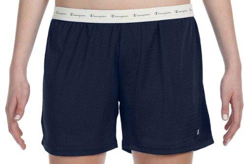Champion Women's Mesh Short, Navy, M