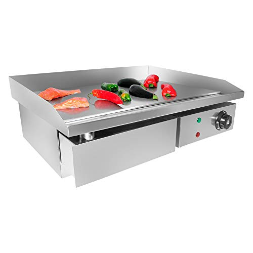 ALDKitchen Flat Top Griddle | Teppanyaki Grill with Single Thermostat | Commercial Griddle |...