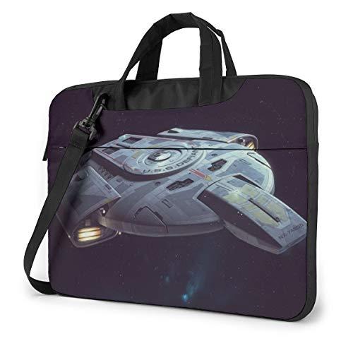 Star Trek Bolsa para ordenador portátil 14 15 16 pulgadas maletín bandolera repelente al agua bolsa portátil Satchel Tablet negocios bolsa de transporte para mujeres y hombres