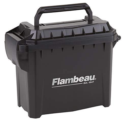 Flambeau Outdoors 5415MC Mini Ammo Can, Portable Ammo Storage , Black , Mini - 6.75 L x 3.375 W x 5.5 D