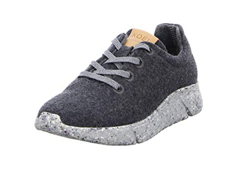 KOEL Damenschuhe - Merino Sneakers KO821L/04 Dark Grey, Größe:39 EU