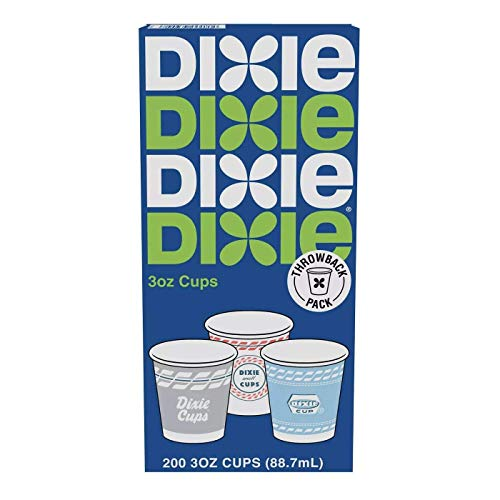 Dixie Cups - 3 Ounce 400 Count - Designs Vary