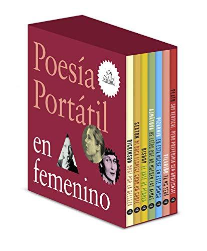 Poesía portátil en femenino (Dickinson | Sexton | Bishop | Ajmátova | Pizarnik | Vilariño | Plath | Safo)