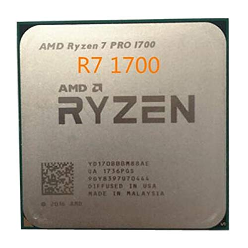 Ryzen 7 Pro 1700 R7 Pro 1700 R7 1700 de 3,0 GHz de Ocho núcleos 16-Hilo de procesador de CPU 65W YD170BBBM88AE Hembra AM4