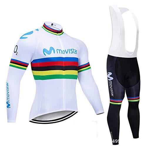 Culotte Ciclismo Culote ,Maillot Ciclista Manga Larga Bicicleta Montaña Equipo Profesional Tour...