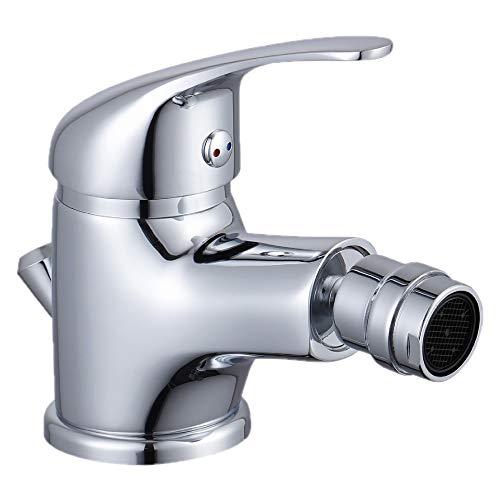 Bidet Armatur Bidetmischer Wasserhahn Waschtischarmatur Einhebelmischer Bad Chrom