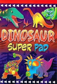 Dinosaur Super Pad 0709719817 Book Cover
