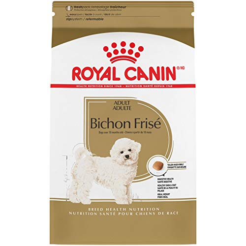 Royal Canin Bichon Frise Adult Breed Specific Dry Dog Food, 10 lb. bag