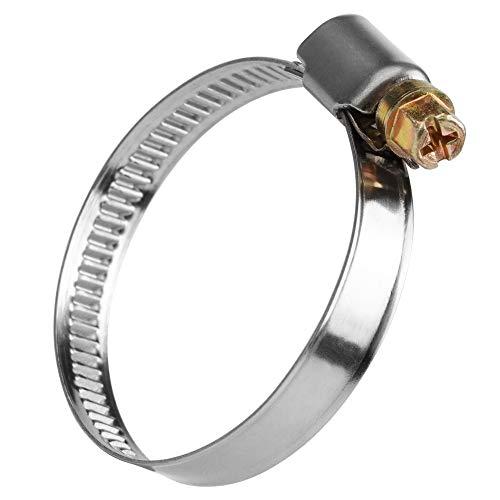 8mm-12mm/13mm-19mm/20mm-32mm/32mm-50mm DIN3017 Abrazadera de manguera de acero inoxidable ajustable,NANDEYIBI abrazaderas tubo,Tubería de...