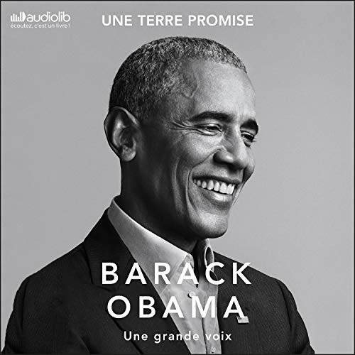 Une Terre promise (A Promised Land) cover art