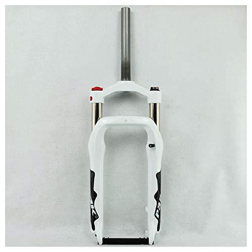 JIE KE Tenedor de la suspensión de Aire BIVO Frente Forma para LA Bicicleta 20 Pulgadas de aleación de Aluminio Aire 100 mm Viaje 1-1/8'Steerer para 4.0' Accesorios de Bicicletas de neumáticos