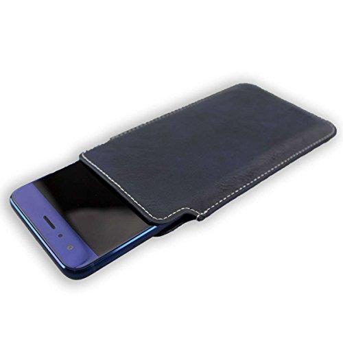 caseroxx Bolsa Estilo Business para Xiaomi Mi4, Funda (Bolsa Estilo Business en Azul)