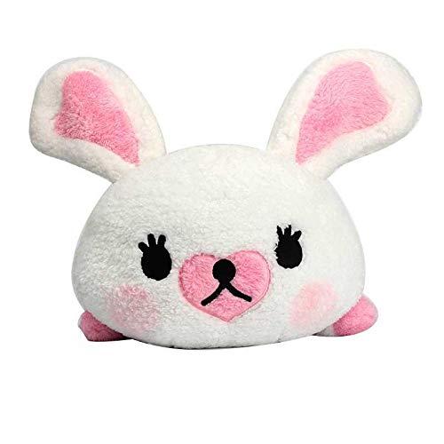 dingtian Juguetes suaves conejo peluche juguetes algodón suave cómodo conejo blanco dormir muñeca niña amigo niño fiesta de cumpleaños regalo de Pascua