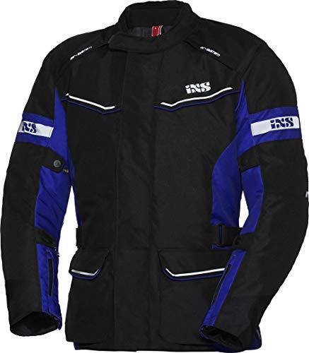 IXS Tour Evans-ST Damen Motorrad Textiljacke Schwarz/Blau Damen XL
