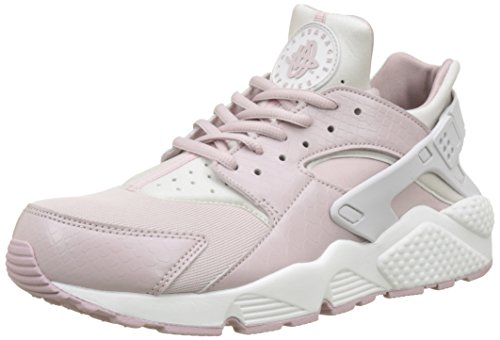 Nike Wmns Air Huarache Run, Scarpe da Ginnastica Basse Donna, Multicolore (Vast Grey/Particle R 029), 36.5 EU