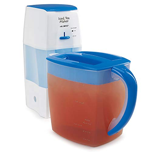 Purchase Mr. Coffee Iced Tea Maker 3 Quart with Brew Strength Selector (Blue)