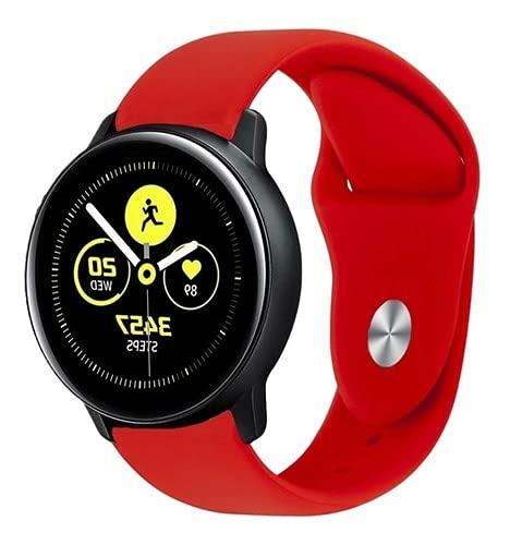 Pulseira Silicone Samsung Active 1 / 2 Vermelho - (C7COMPANY)