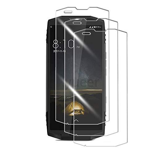 yueer [3 Pack Panzerglas Schutzfolie für Blackview BV9000 Pro,[Anti- Kratzer] [Ultra Clear] Panzerglasfolie Bildschirmschutzfolie Folie für Blackview BV9000 Pro.