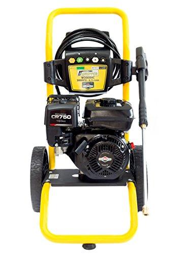 WASPPER 3000 PSI ✦ Hidrolimpiadora de Motor de Gasolina Briggs & Stratton✦ 163cc con Potencia de Alta presión Jet Hidrolimpiadora Profesional