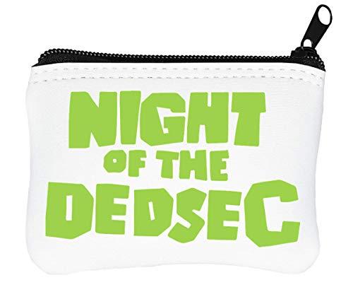 Night of The Dedsec Reißverschluss-Geldbörse Brieftasche Geldbörse