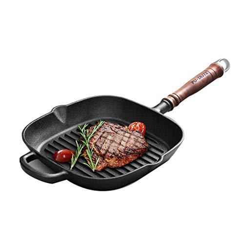 min min Wok Non Stick25CM Gusseisen Bratpfanne Skillet Pfanne MIT antihaft-Beschichtung para Steak Oder Grill Plus Gogrilltes Gemüse