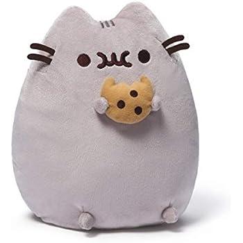 GUND 6055545 - Pusheen mit Cookie Plüsch, 24 cm