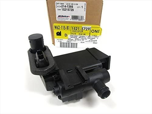 Directly managed store GM Genuine 15215729 Evaporator Memphis Mall Solenoid Canister Emission