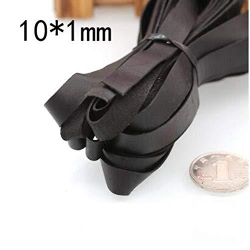 Lederen handwerk DIY Koord Eerste Laag van Lederen Touw Handgemaakte Armband Ketting Hoofddeksels Accessoires 1mm dikte, als foto
