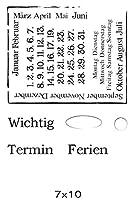 ドイツの透明なクリアシリコンスタンプ/DIYスクラップブッキング用シール/アルバム装飾クリアスタンプシートA2292