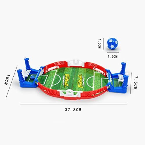 NUOBESTY 1pc Tabletop Soccer Football Machine Spiel Kreative Finger Sport Geschenke Spielzeug für Kinder Kinder Kinder Kinder Kinder