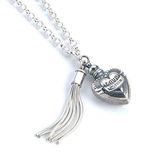 Collar oficial de plata de ley de Harry Potter con poción de amor – NN0053