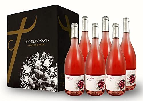 BODEGAS Y VIÑEDOS VOLVER | Vino Tarima Rosado | Pack de 6 Botellas | Denominación de Origen de Alicante | Variedad Monastrell | Cosecha del 2020 | (6 Botellas de 750 ml)