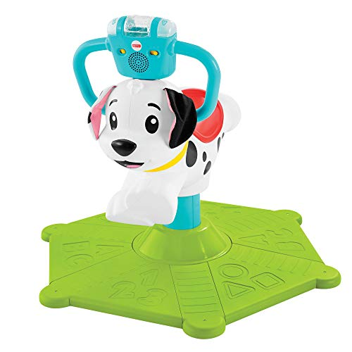 Fisher-Price GHY03 Bounce and Spin Puppy, Stationär-Spielzeug, Musik-Spielzeug, Mehrfarbig