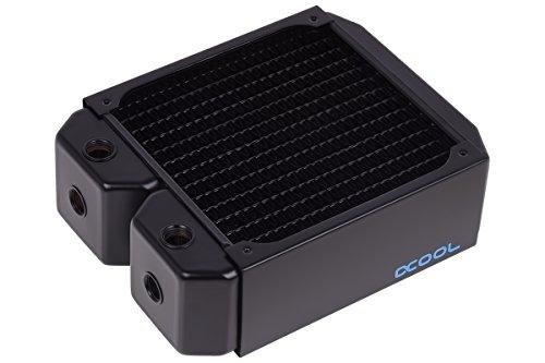 Alphacool 14176 NexXxoS UT60 Full Copper Radiator - CPU Wasserkühlung - 140mm, Kupfer / Schwarz