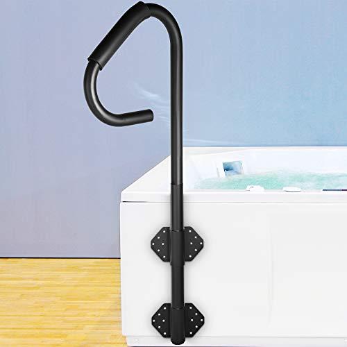 VEVOR Whirlpool Handlauf Edelstahl Spa-Geländer Whirlpool 119,4 x 48 cm Pool Handlauf 280 kg Tragfähigkeit Haltegriff Einstiegshilfe Pool ideal für Innen- und Außenbädern oder als Handtuchbaum