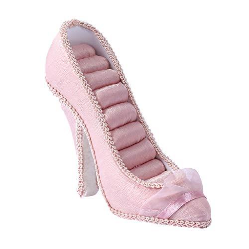 HQLCX Elegante Dama de Alta Talón Zapatos Lindos del Anillo Soporte de...