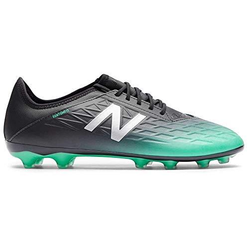 New Balance Furon v5 Destroy AG, Bota de fútbol, Neon Emerald-Black, Talla 10 USA (44 EUR)