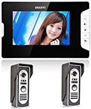 "Camera Nest Doorbell Video Doorbell Doorbell Camera Nest Home Security 7"" Wired Video Door Phone Doorbell Intercom System ..."