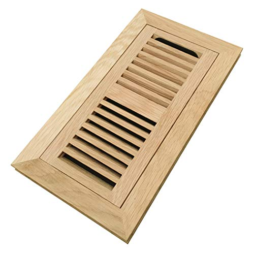 oak flush mount floor register - 2
