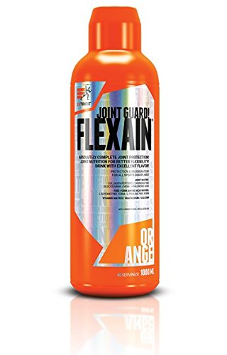 Extrifit Flexain Confezione da 1 x 1000 ml - Collagene - MSM - Glucosamina - Condroitina - Acido Ialuronico - Vitamine e Minerali (Orange)