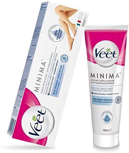 Veet Minima Crème Dépilatoire Peaux Sensibles - Le tube de 100ml